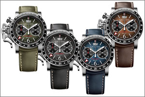 The Graham Chronofighter Vintage GMT is the tough guys' ticket to time travel