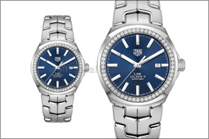 TAG Heuer Link 41mm with diamond bezel