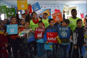Green Hope empowers Syrian Refugee children