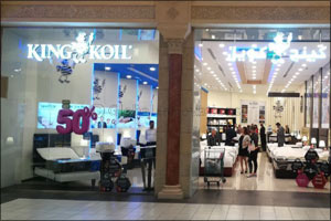King Koil opens flagship store in UAE