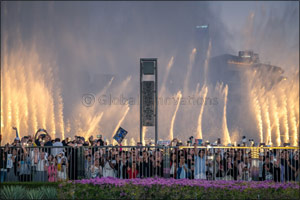 The Dubai Fountain Performs First-ever K-pop Song