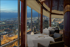 Experience Dubai's first 'His and Her' Valentine menu at  At.mosphere, Burj Khalifa