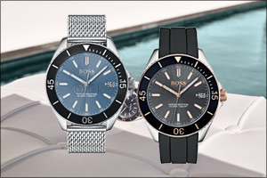 Boss watches presents the Ocean Edition