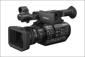 Sony's PXW-Z280, World's first 4K 3-chip Camcorder with new 1/2-type Exmor R CMOS Image Sensors Redefines Handheld  ...