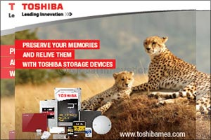 Toshiba Releases New, Powerful Surveillance and Video Streaming Internal Consumer Hard Drives