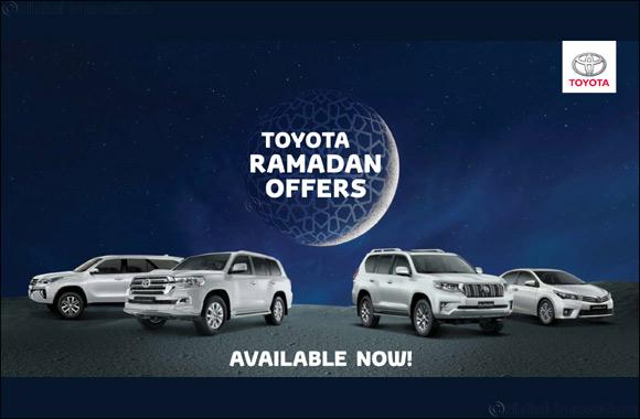 Ramadan starts early this year at Al-Futtaim Toyota showrooms