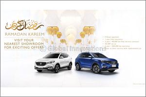 Experience MG Motor This Ramadan