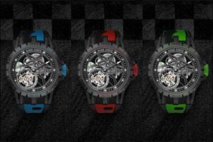 Excalibur Spider Pirelli Single Flying Tourbillon Double wave