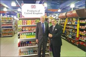 British Consul General Visits Al Maya Supermarkets