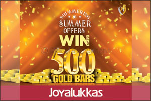 Joyalukkas launches highly anticipated annual summer promotion