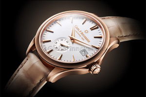 Stylish men's watch - BU4018-11H - with rose gold case and black dial is a real beauty