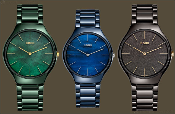 The Rado True Thinline Nature Collection Inspired by nature