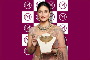Bollywood Star Kareena Kapoor Khan launches the new festive jewellery collection of Malabar Gold & Diamonds