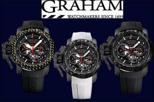 Graham Chronofighter Superlight Carbon Skeleton