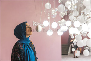 Preciosa Lighting brings Breath of Light to the Middle East