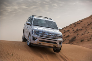 The 2018 Ford Expedition's Sand Mode Secrets: Ford's First Full-Sized SUV with Terrain Management System, Developed  ...