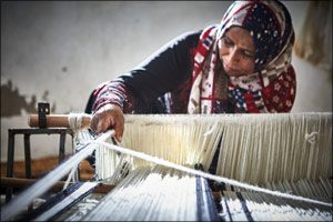 IKEA's TILLTALANDE Collection - Made in collaboration with Jordanian and refugee women artisans and the Jordan River  ...