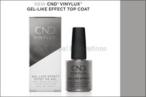 New CND� Vinylux� Gel-Like Effect Top Coat