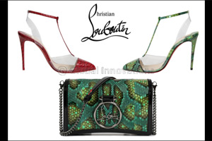 Exclusive Louboutin's for the Middle East