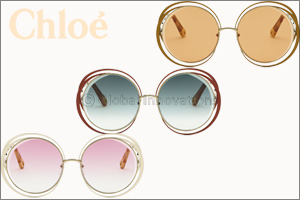 CHLOÉ  Introduces a Striking New Version of the Iconic �CARLINA� Sunglasses