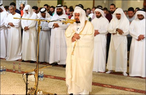 6,000 worshippers prayed with Sheikh Saad bin Said Al-Ghamdi at