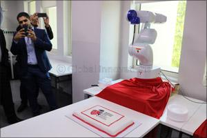 e4a51fc2f Dubai, United Arab Emirates - 12 June 2019: Global technology firm Epson  has partnered with Middlesex University Dubai's newly opened Robotics  Laboratory to ...