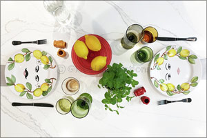 Bring Some Summer Vibrancy To Your Dinner Table With Maiolica