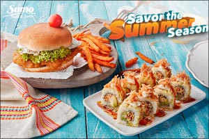 August Menu Specials Hit All Sumo Sushi & Bento Outlets