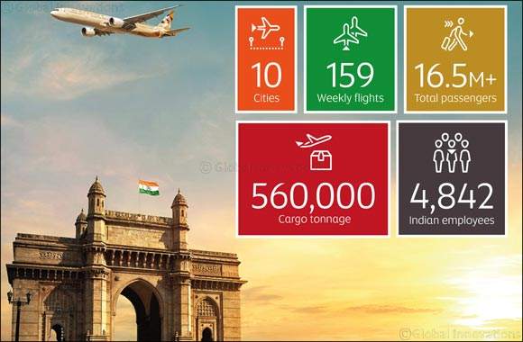 Etihad Airways Celebrates 15 Years in India : GoDubai com