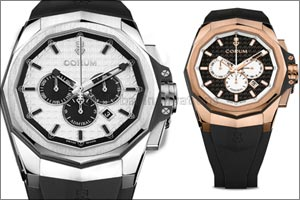 The new urban warrior unleashed  - Corum injects modernity and athleticism into its Admiral collection