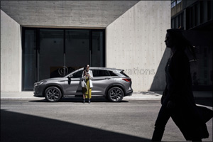 arabian automobiles infiniti presents the apex in road safety wit...
