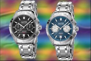 aquadate chrono eberhard & co. presents the chronograph version o...