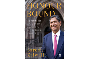 British Indian Lawyer Sarosh Zaiwalla Launches Book Honour Bound in UAE