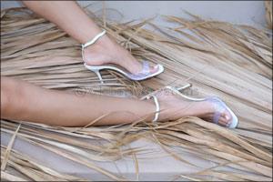 Home-Grown Footwear Designer, Katrine Hanna,  Releases her Newest Collection �Desert Rose'