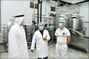 HFZA-headquartered Italian Dairy Products Factory Launches Expansions, Doubling Its Size to 26,000 Square-foot