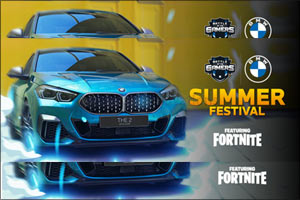 BMW Group Middle East Launches Summer Festival Featuring Fortnite