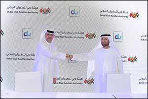 dubai civil aviation authority partners with du for dubai pulse c...