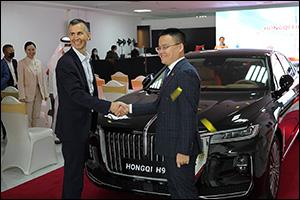 Hongqi H9, an Outstanding E-segment Car Launched in Dubai