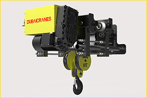 Dubai Cranes Launches 8 New Models of Wire Rope Hoists Designed for Middle East Industries