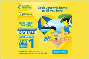 Cebu Pacific Celebrates Philippine Independence Day with Special AED1 Seat Sale for Dubai-Manila Flights
