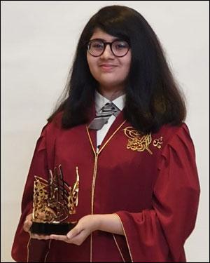 Trisha Sayani - Sharjah Excellence Award