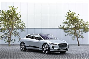 jaguar land rover to provide fleet of all electric vehicles for w...