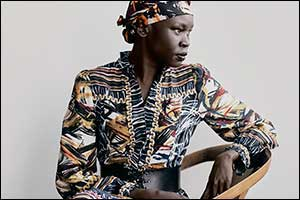 Weekend Max Mara New Signature Collection FW21: A.W.ORLD by Alek Wek