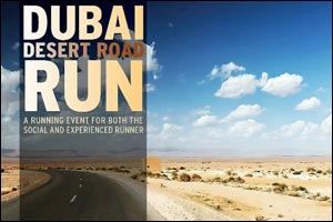 Dubai Desert Road Run April 2014