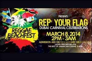 "Reggae Beachfest IV ""Rep Your Flag"" Carnival Edition"