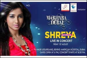 Shreya Ghoshal Live in Dubai 2014
