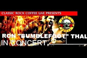 CLASSIC ROCK COFFEE UAE presents BUMBLEFOOT (GUNS N ROSES)