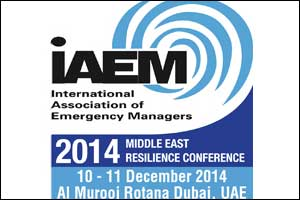 IAEM Middle East Resilience Conference 2014 (IAEMMERC 2014)