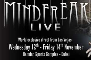 Criss Angel Mindfreak Live in Dubai