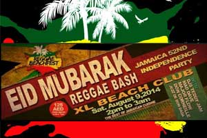 Eid Mubarak Reggae Bash & Jamaica 52nd Independence Party